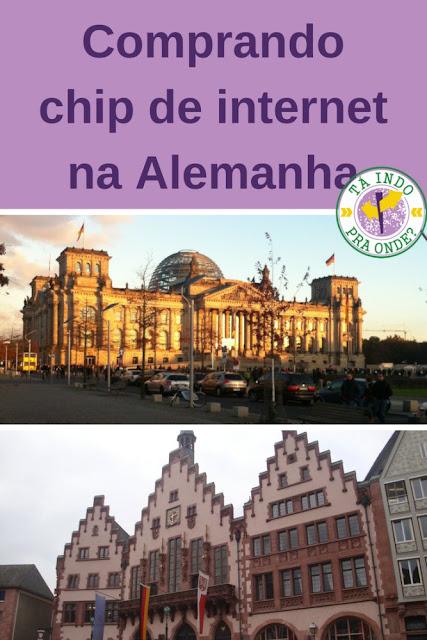 Comprando e usando chip de celular na Alemanha