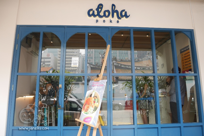 Aloha Poke: Hawaiian Salad Bar opens Tanjong Pagar