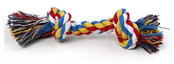 Futurekart Cotton Durable Chew Rope Toy for Small to Medium Dogs (Multicolour)