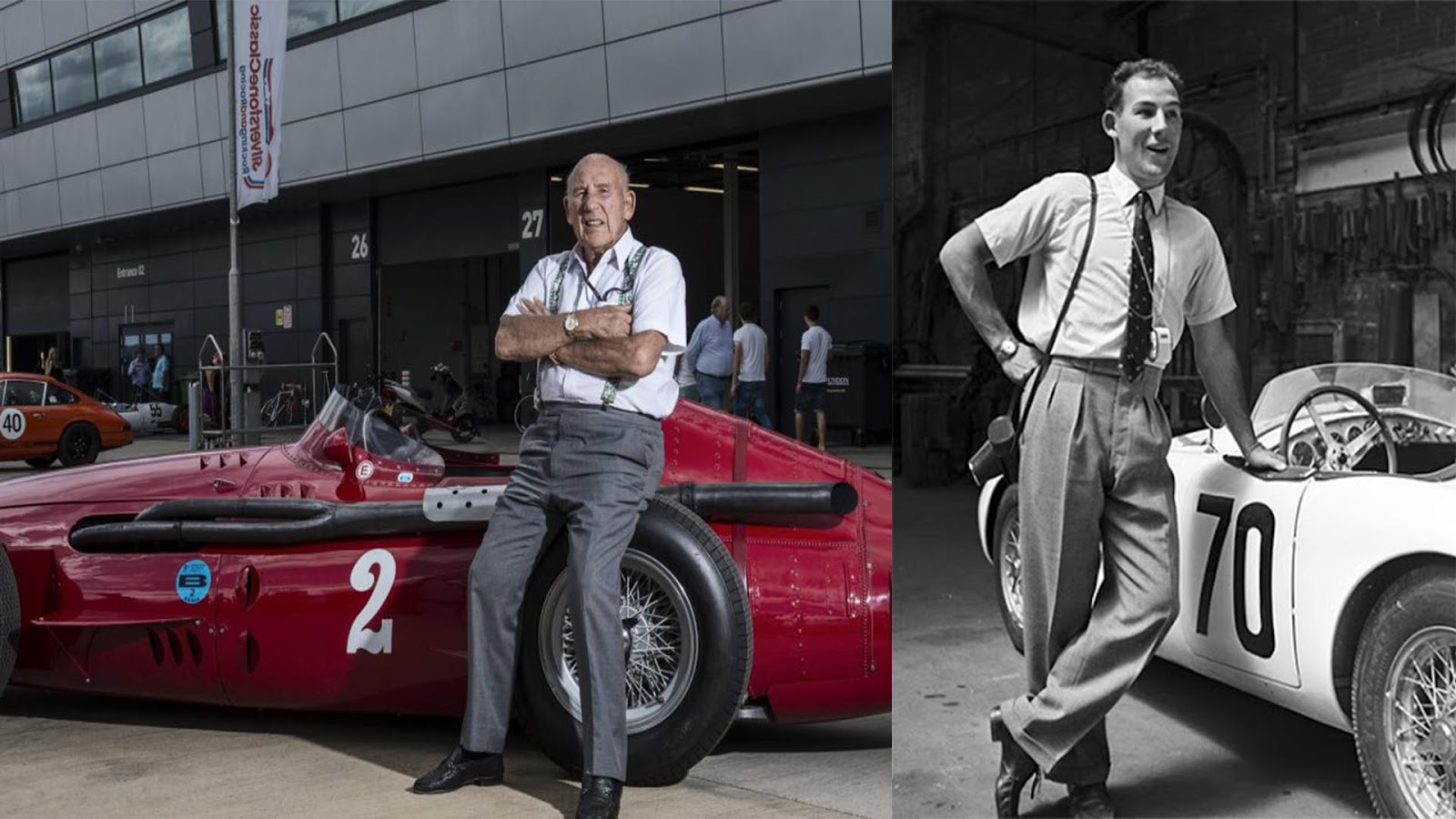 Stirling Moss height and weight