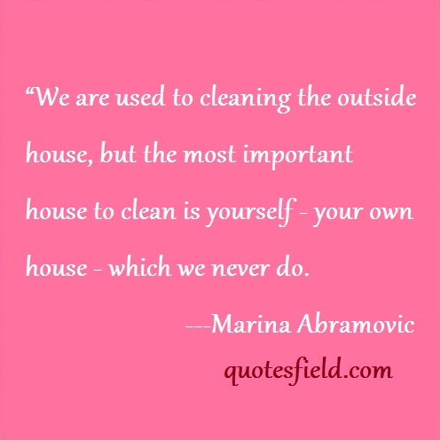Cleaning Quotes