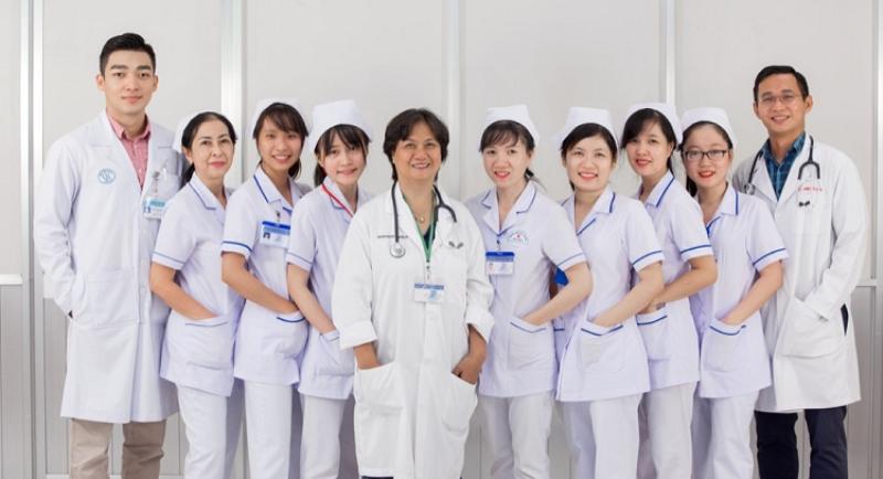 Mẫu đồng phục tại bệnh viện Đại Học Y Dược