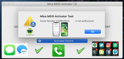 MEID Untethered iCloud Bypass full Signal Calls- iMessage&Facetime AppStore-Allapp Notifications Fix With Mina Tool.
