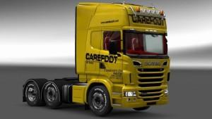 Scania RJL Carefoot PLC skin mod