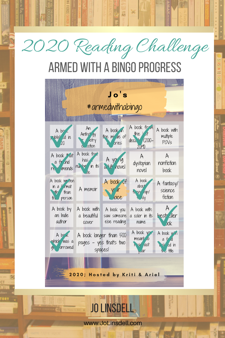 Armed with a Bingo October Progress