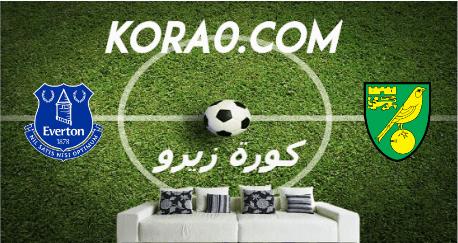 مشاهدة مباراة إيفرتون ونوريتش سيتي بث مباشر اليوم 24-6-2020 الدوري الإنجليزي