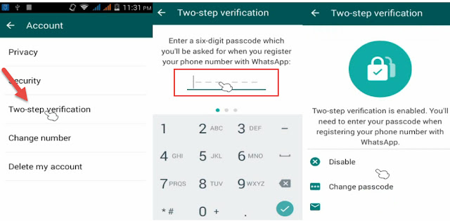 WhatsApp Enables Two-Step Verification in Android and Windows