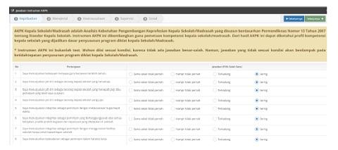 Cara Login dan Mengisi Instrumen AKPK Kepala Sekolah Online 2016