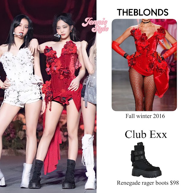 Knetz talks about BLACKPINK Jennie's red outfit in the online concert 'The Show'