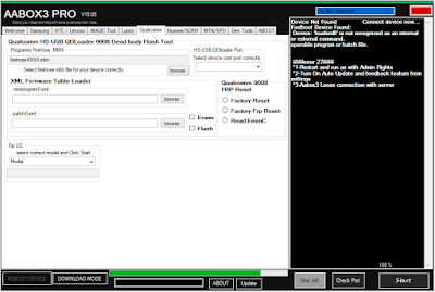Advanced Android Pro Box 3 V19.5 Flash,Unlock,Reset (ADB, Fastboot, Download Mode, EDL,)