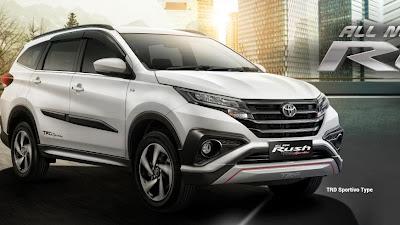 Keunggulan dan Kekurangan Mobil Toyota Rush