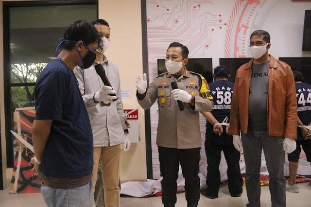 Dua Ormas Bertikai, Polresta Tangerang Tetapkan 10 Orang Tersangka