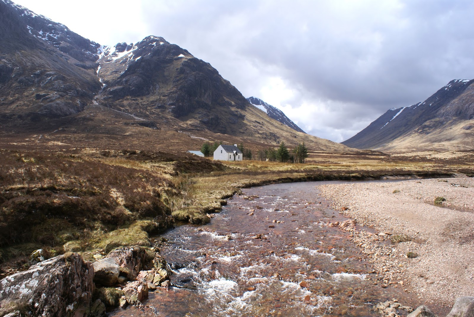 glen coe highlands Altnafeadh scotland united kingdom uk