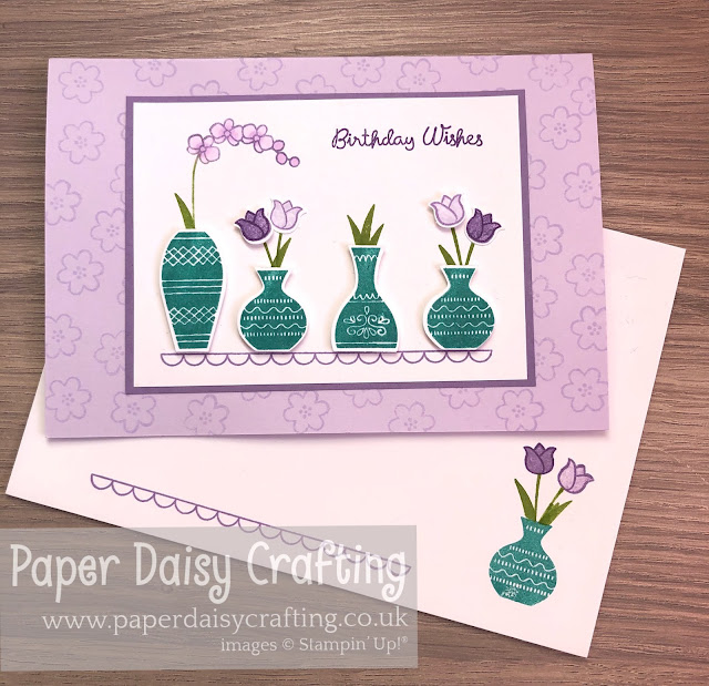 Varied Vases Stampin Up