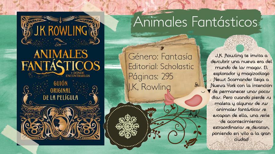 Animales fantásticos y dónde encontrarlos - J.K. Rowling