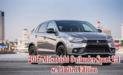 2017 Mitsubishi Outlander Sport 2.4 se Limited Edition  | 2017 chicago auto show
