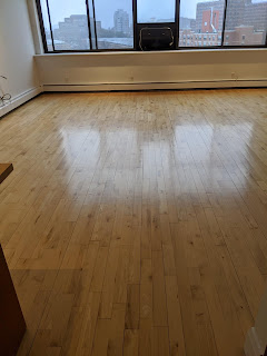 Hardwood Floor Refinishing In An Empty Home