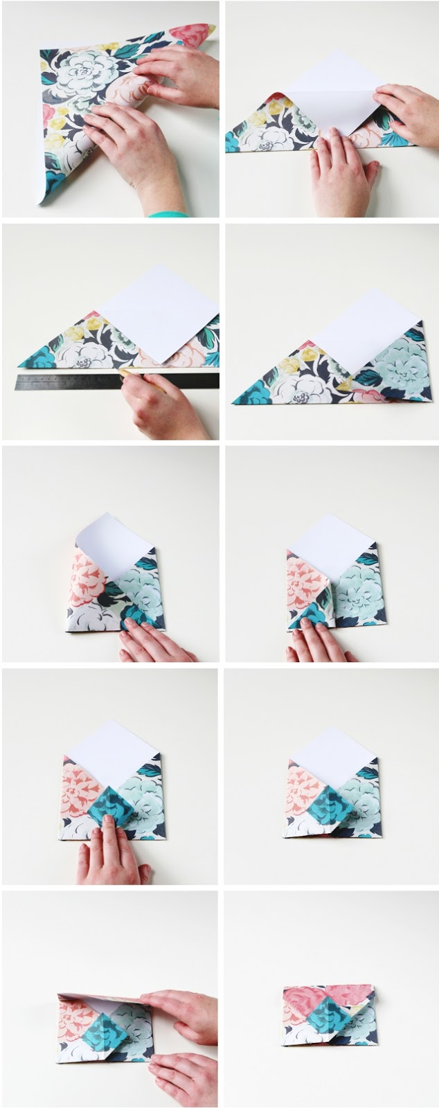 Diy origami envelopes gathering beauty How to make your home beautiful