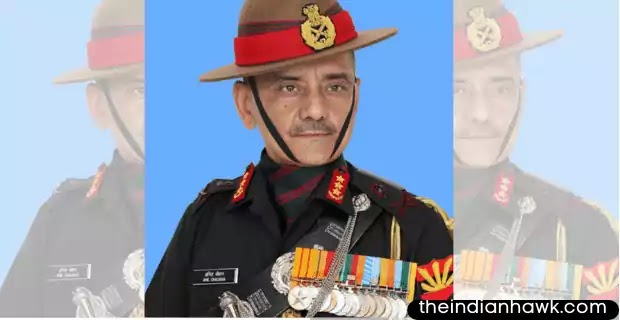 Lieutenant General Anil Chauhan Commanding-in-Chief Eastern Command