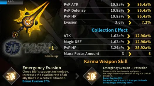 Choco Bibi Karma Weapons 2