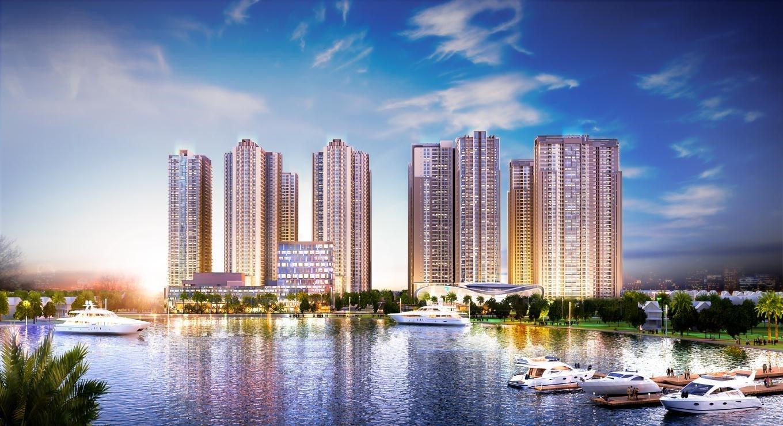 Phối cảnh tổng thể dự án Goldmark City 136 Hồ Tùng Mậu