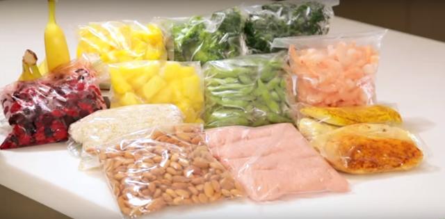 Kitchen Shopping Tips - Freezer List