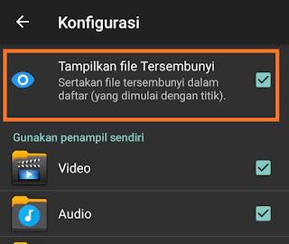 Menampilkan Foto Dan Video Tersembunyi Di Android