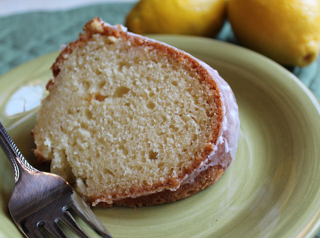 A Slice of Lemon Yogurt Cake