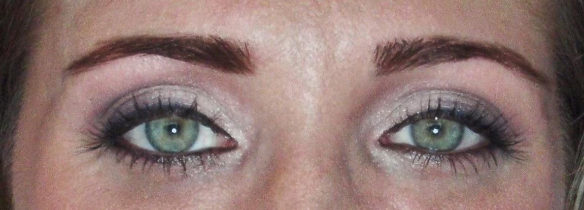 long dark lashes