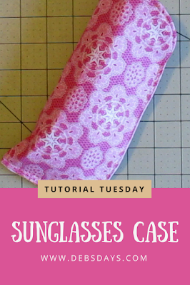 Easy Homemade Sunglasses Case Sewing Project