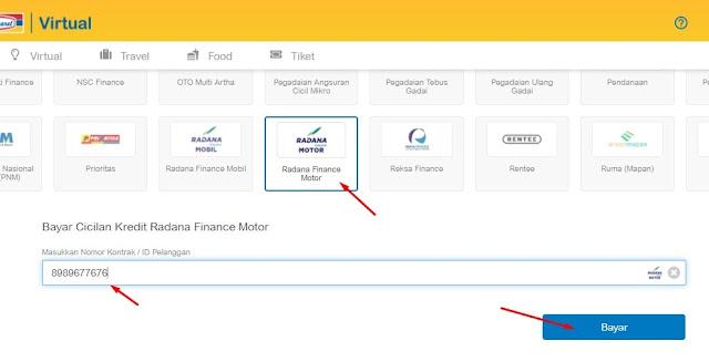 cek angsuran radana finance secara online via website