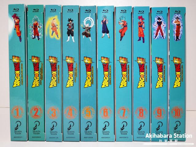 Review de Dragon Ball Super Box 10: La Saga del Torneo de Poder Edición Coleccionista Blu-Ray - SelectaVision