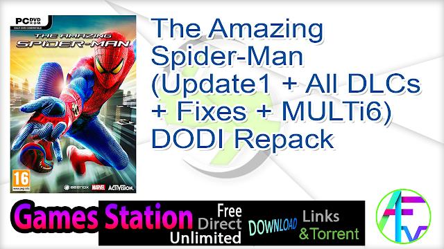 The Amazing Spider-Man (Update1 + All DLCs + Fixes + MULTi6) DODI Repack