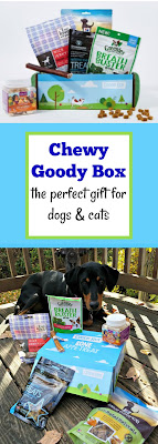 Chewy Goody Box dog treats doberman rescue