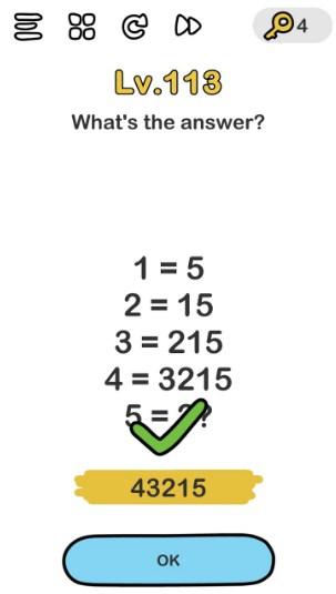 kunci jawaban brain out level 113