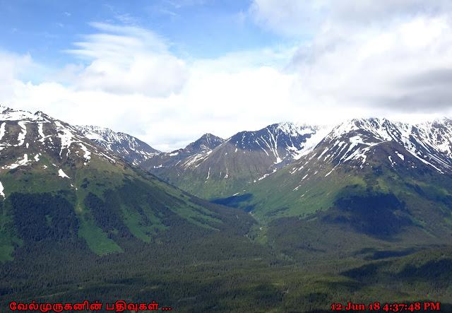 Chugach Mountain Range Alaska