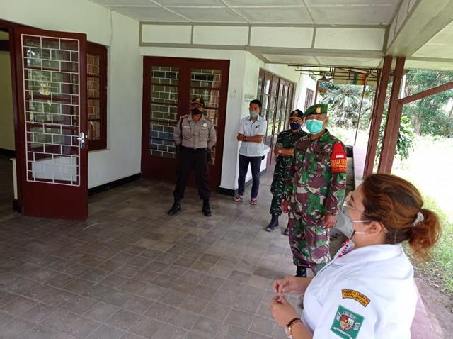 Personel Jajaran Kodim 0207/Simalungun Bersama Dinas Terkait Lakukan Rapid Test Kepada Warga Binaan