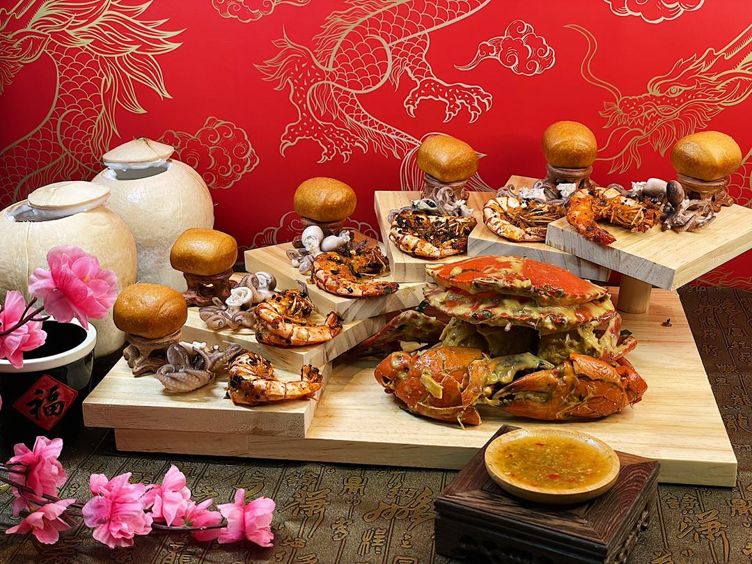 talkcrab: lunar new year 2021 fortune & prosperity crab buckets