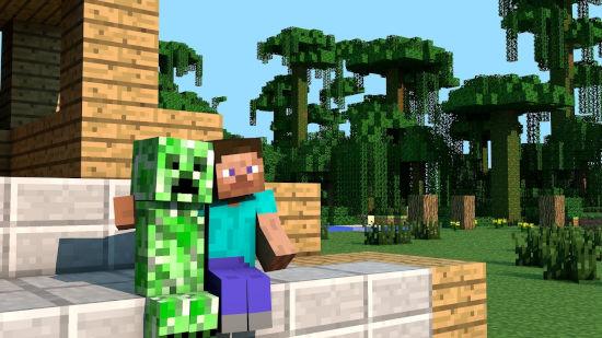 Minecraft - Creeper Et Steve - Ultra HD 4K 2160p