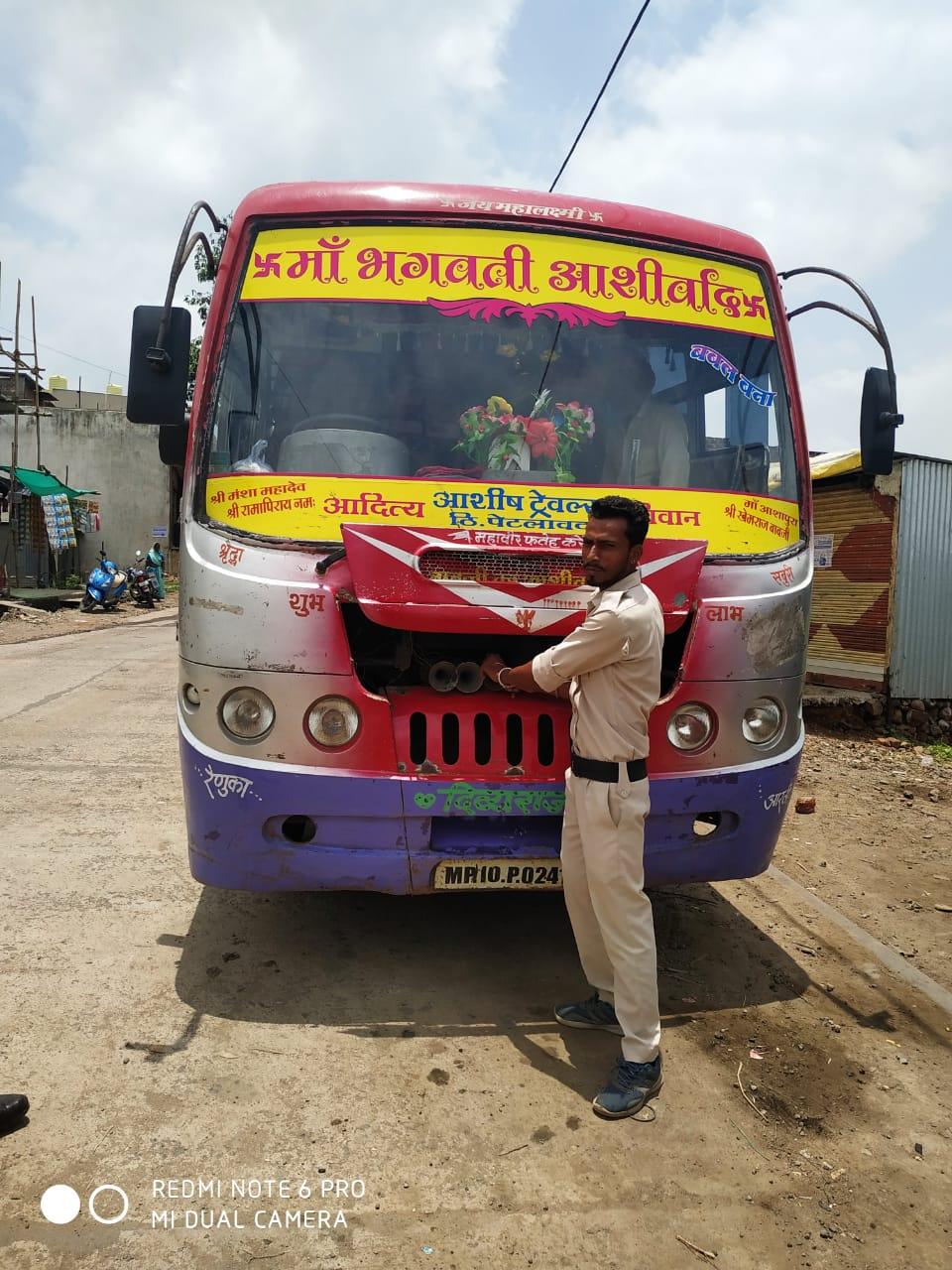 Jhabua News- 14 वाहनो पर चालानी कार्यवाही कर 35 हजार की गई वसूली