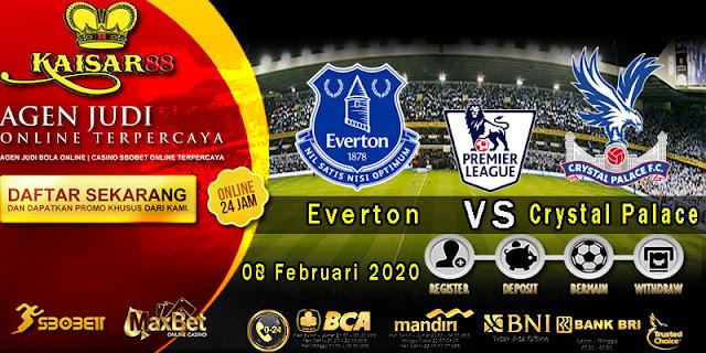 Prediksi Bola Terpercaya Liga Inggris Everton vs Crystal Palace 8 Februari 2020
