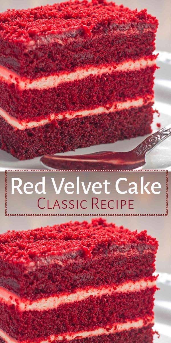 My Favorite Red Velvet Cake Recipe #cakerecipes