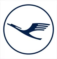 See the official logo for Lufthansa airlines