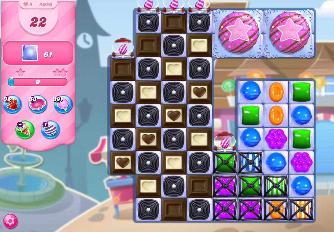 Candy Crush Saga level 5056