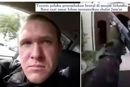Biadab Cuma Karena Alasan Ini Pelaku Tega Tembaki Umat islam di Masjid New Zealand Secara Brutal