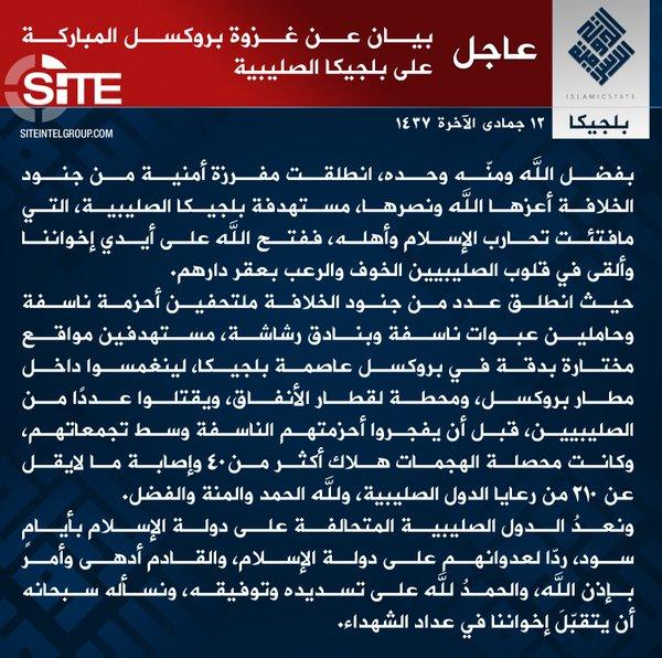 """Estado Islâmico alerta que o """"Ocidente"""" deve preparar-se para """"dias bem sombrios"""""""