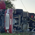 Ανατροπή φορτηγού στην εο Καλαμπάκας-Ιωαννίνων