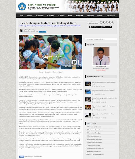 SIKOLAG Ci - Web sekolah V.2.0 (7 Warna) dengan Codeigniter Supprt PHP 7