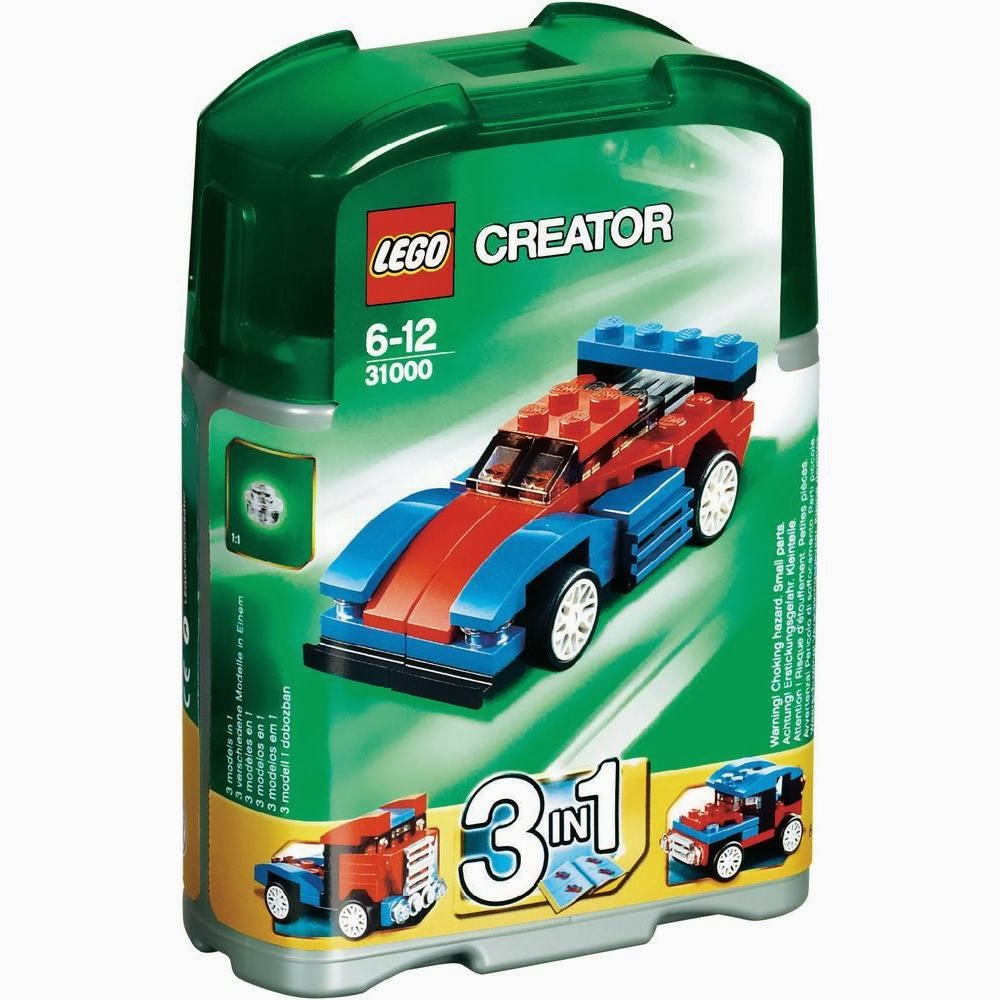 Jual Lego Murah Indonesia: Lego Creator - Mini Speeder (31000)