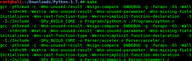python3 make